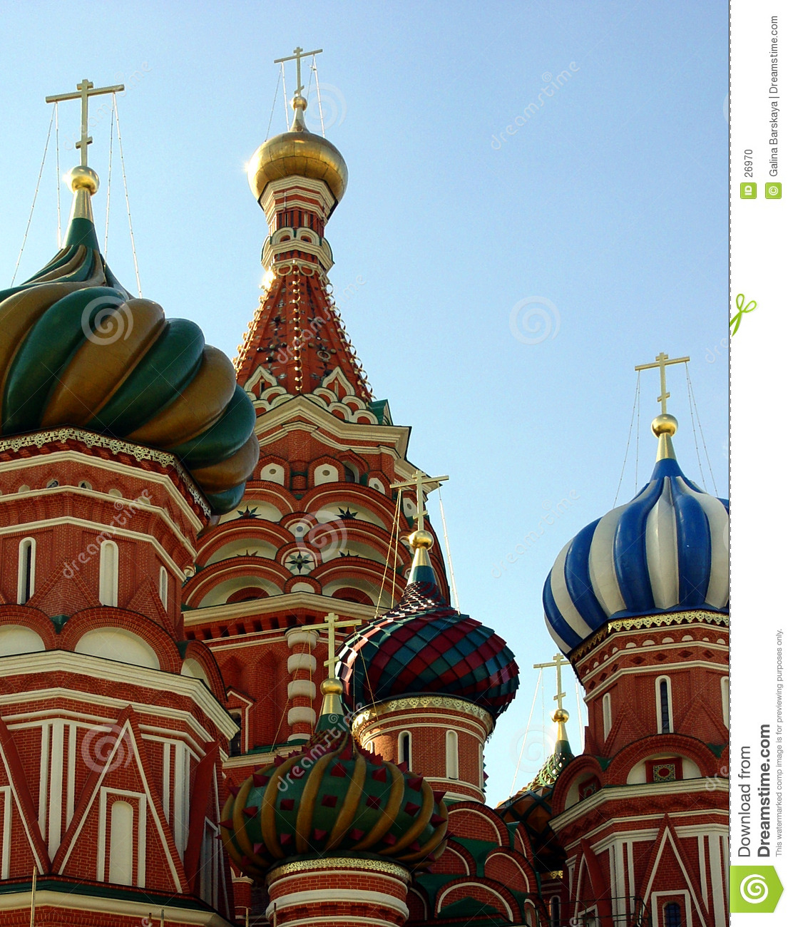 St. Basil Cathedral, Moscow, Russia
