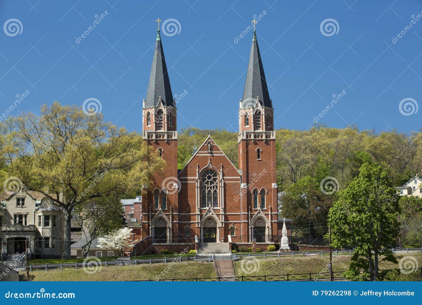 St. Bernard Catholic Church, Rockville, Connecticut.
