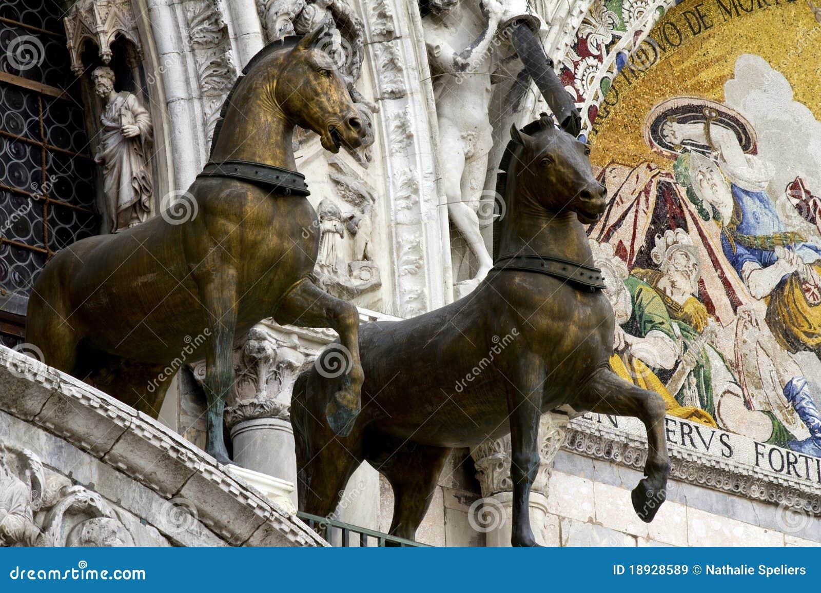 St. Caballos Venecia de las marcas
