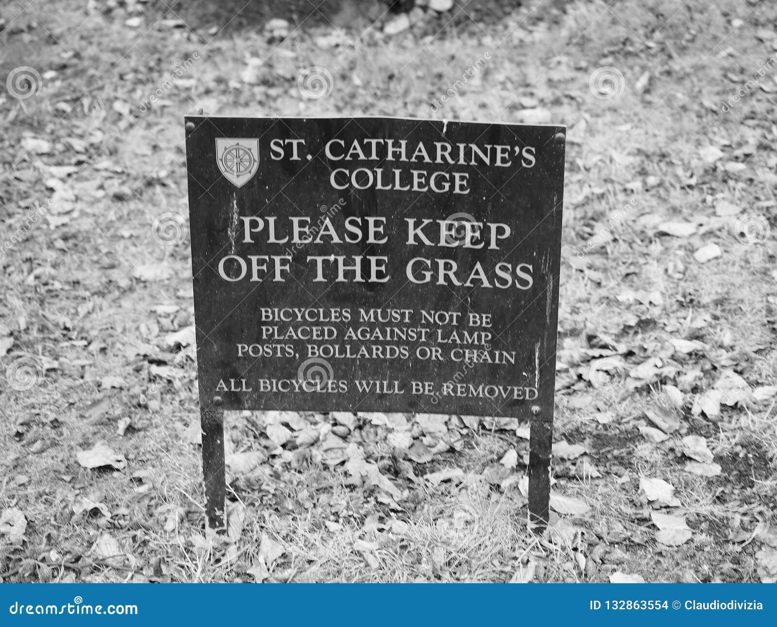 St Catharine Universiteit in Cambridge in zwart-wit