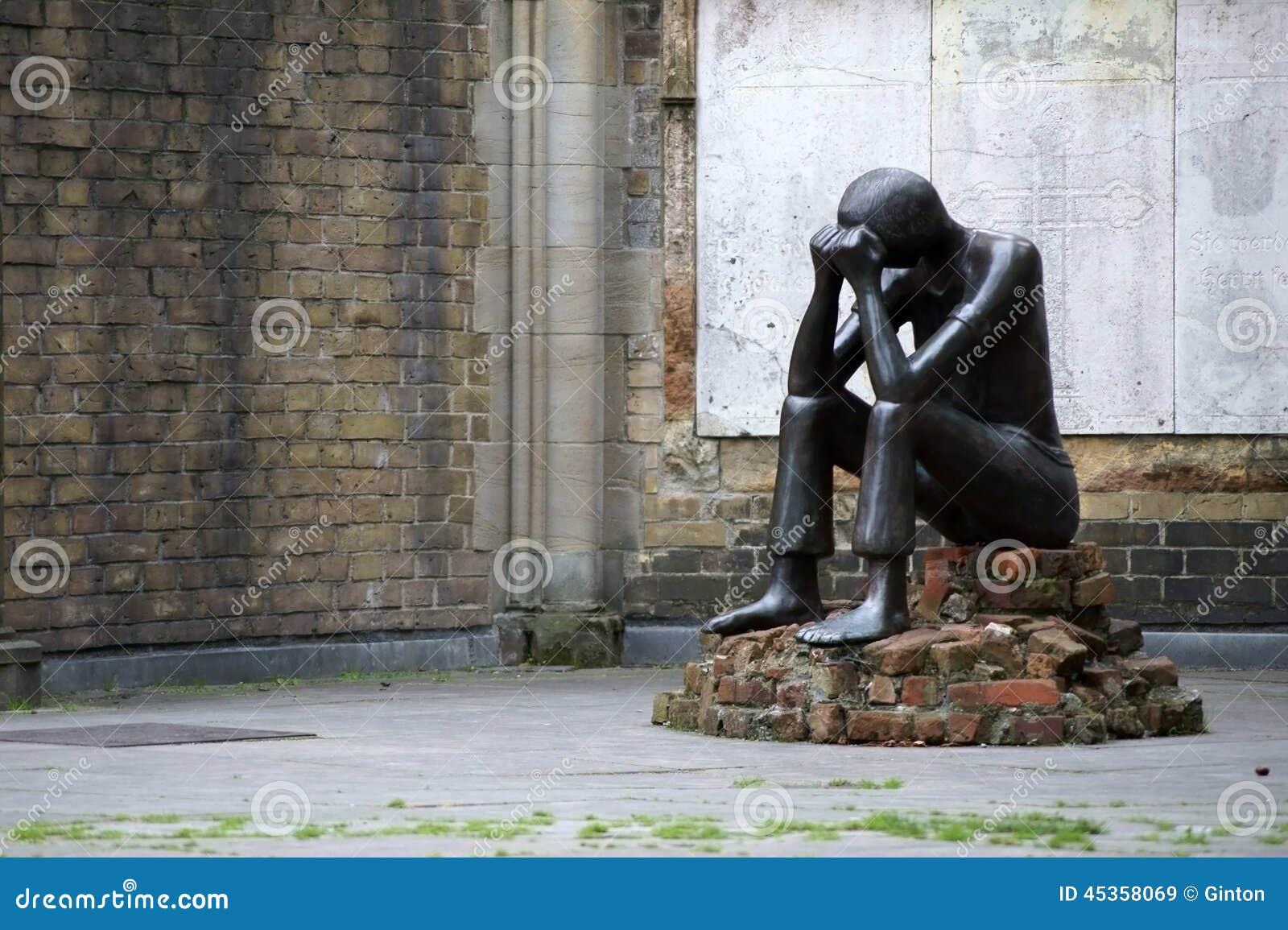 St commémoratif Nikolai de sculpture