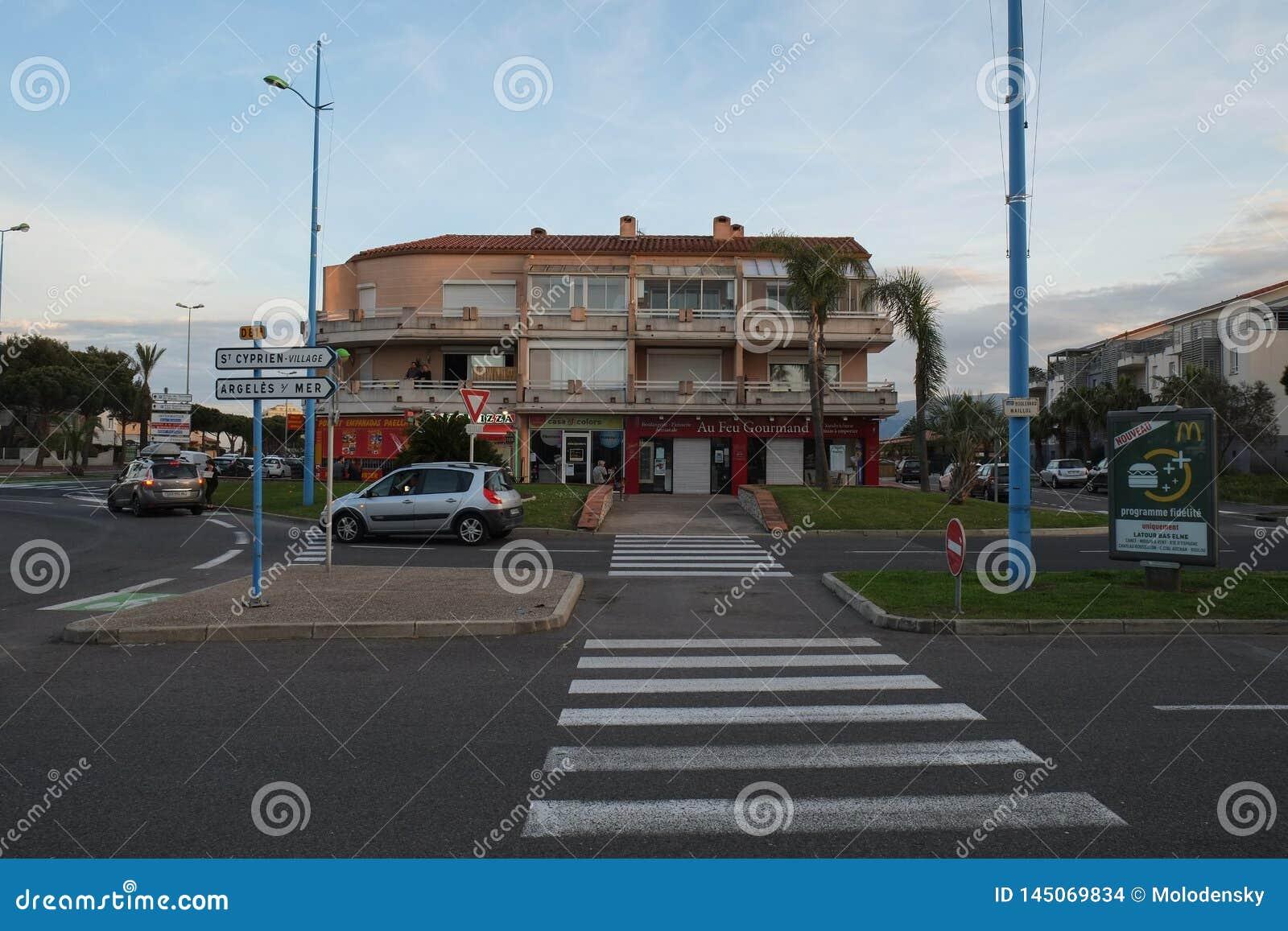 St Cyprien, Languedoc-Roussillon, Frankrijk