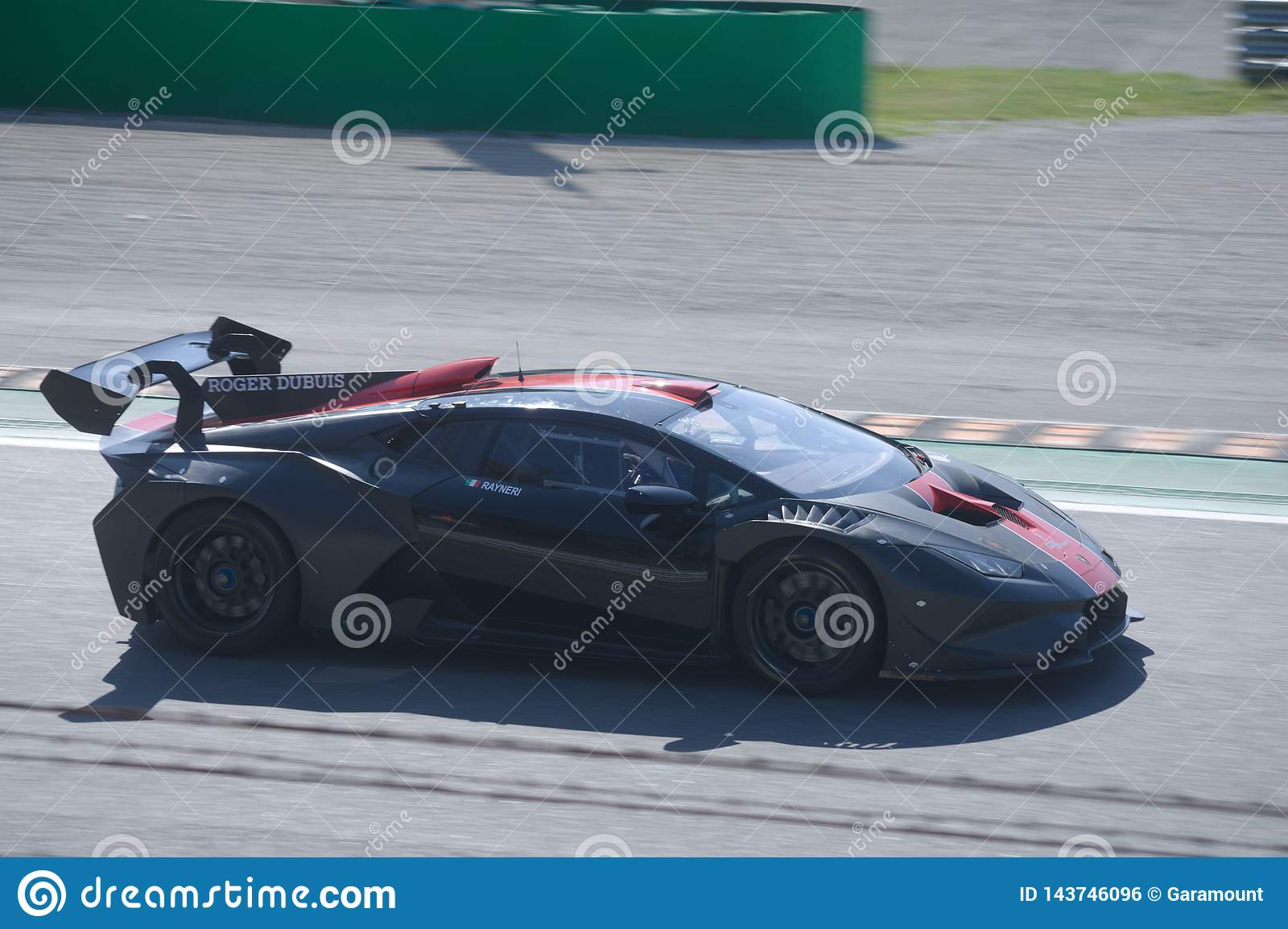 ST de Lamborghini Huracan conducido por Roberto Rayneri