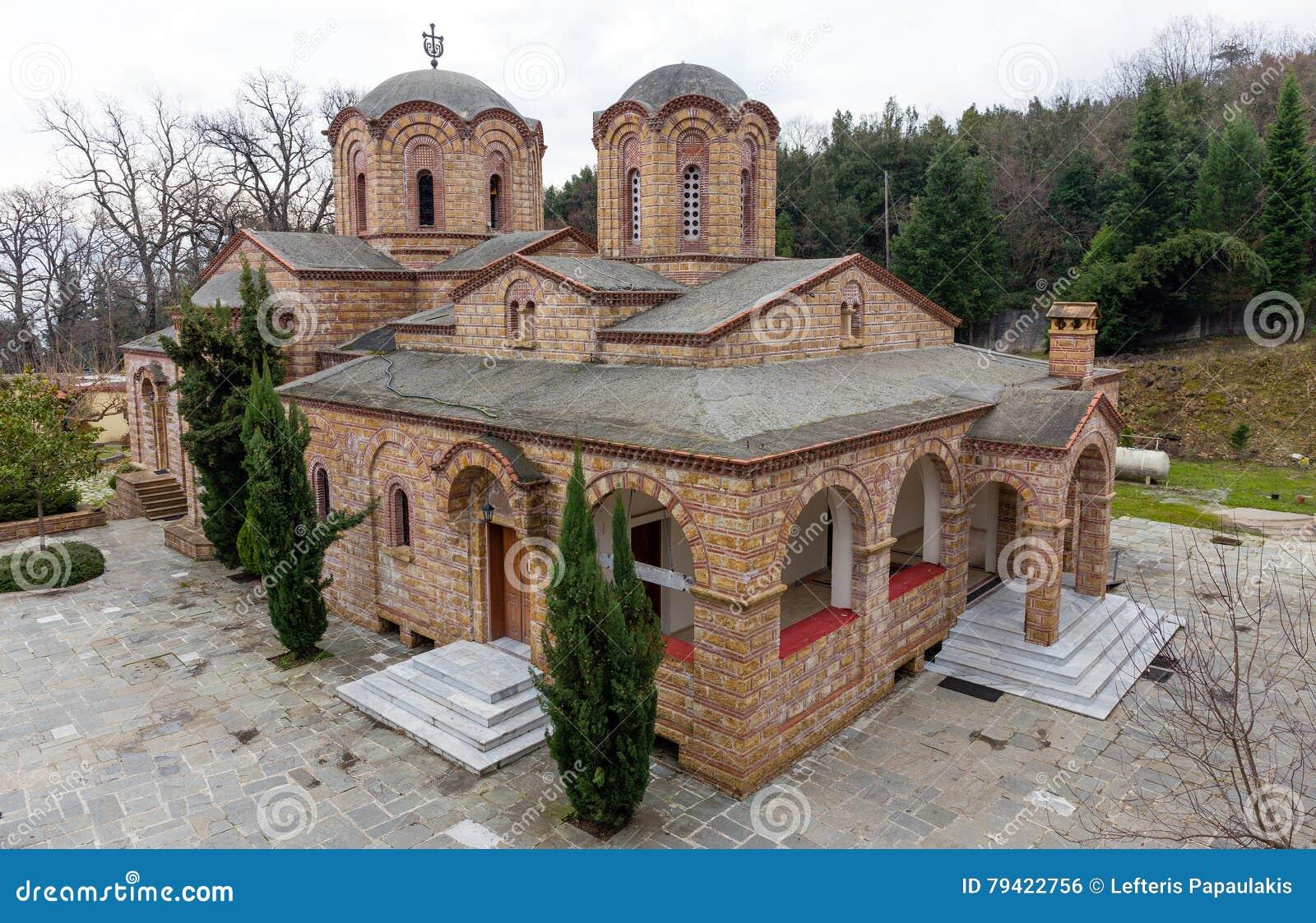 St Dionysios Klooster, Litochoro, Griekenland