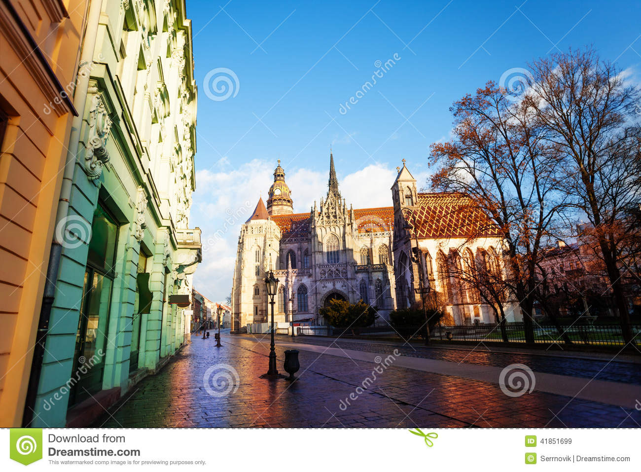 Download St Elisabeth Cathedral In Kosice, Slovakia Stock Image - Image of slovakia, architectural: 41851699