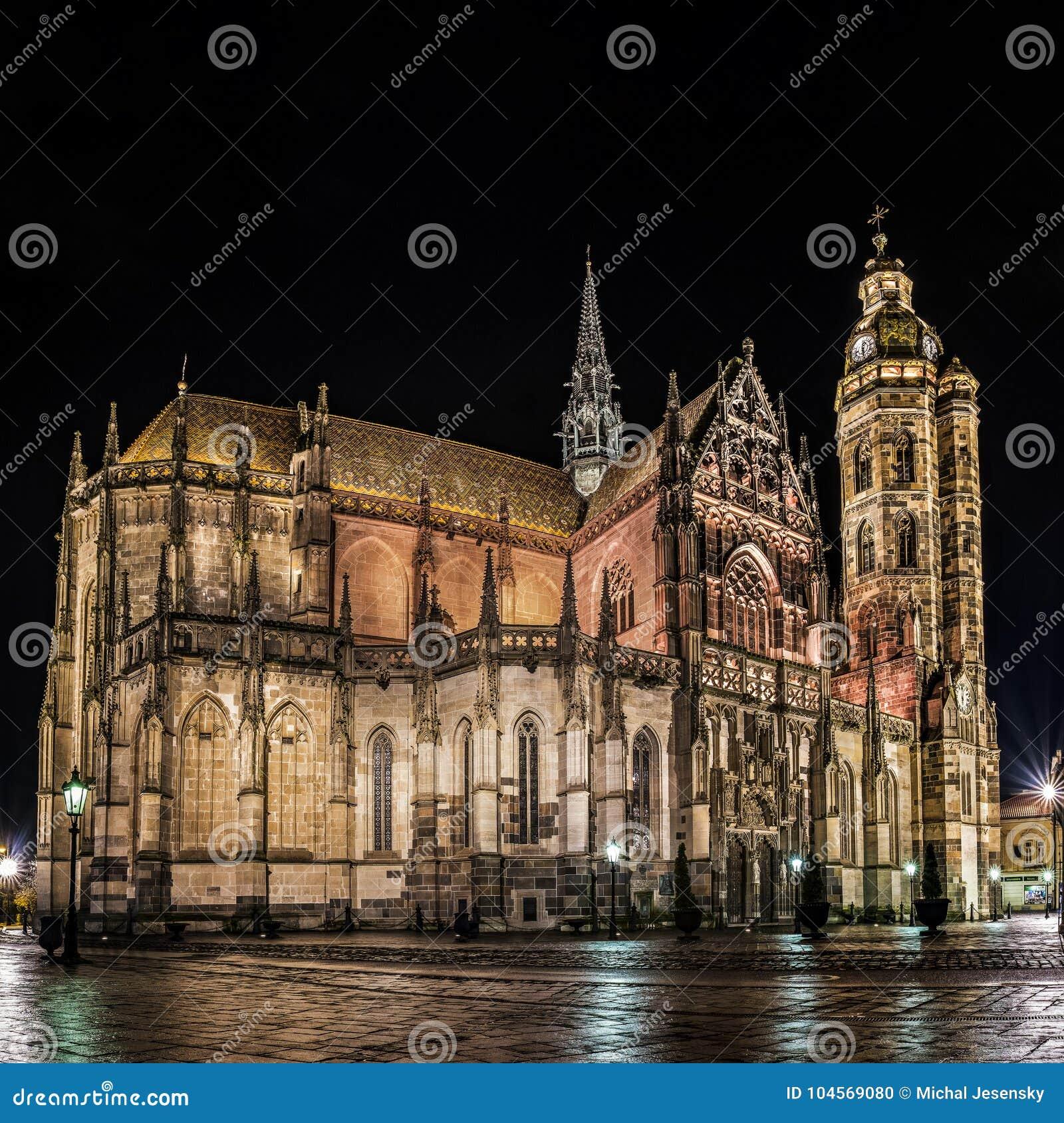 St Elisabeth Katedralna panorama Kosice