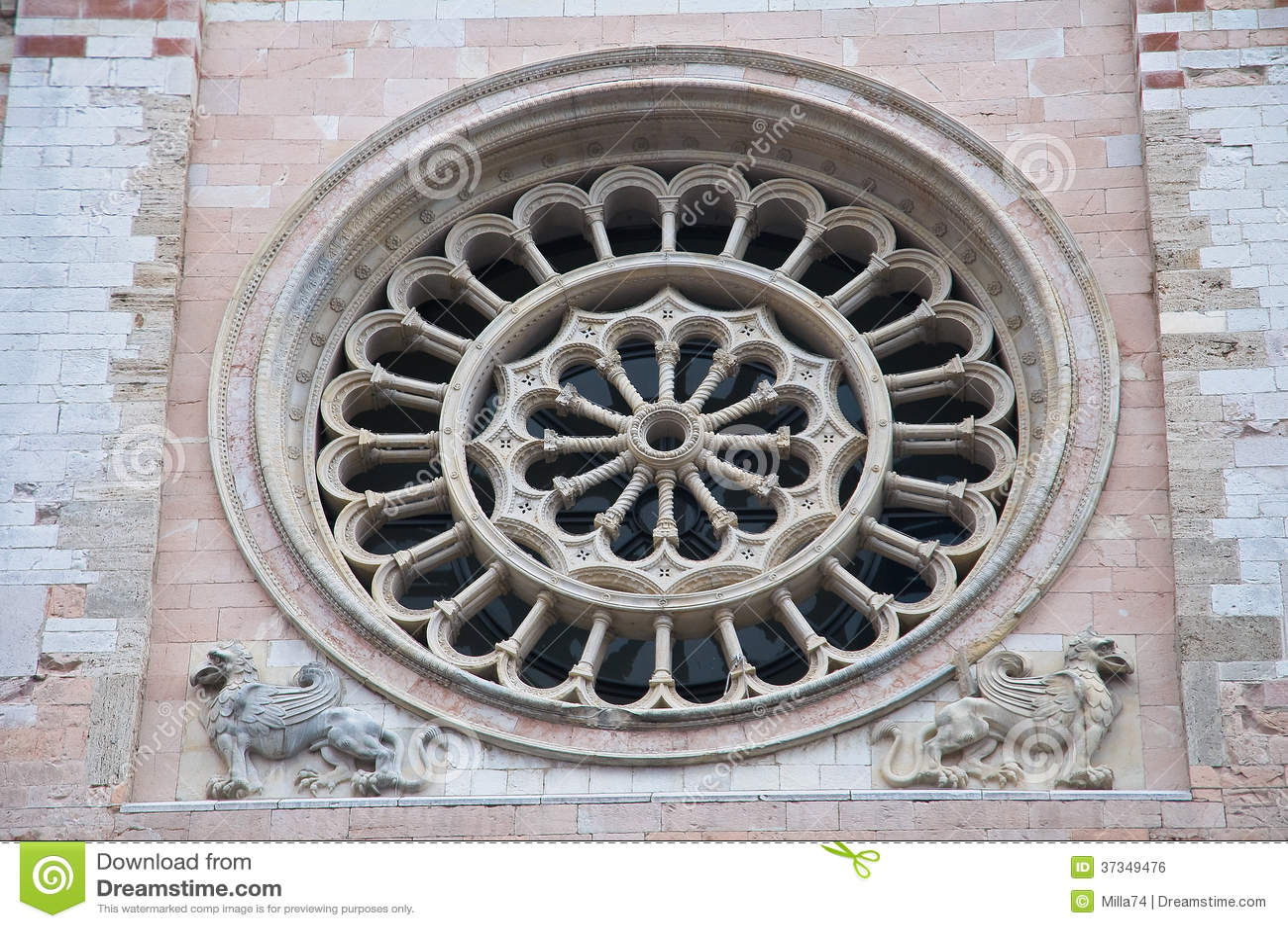 St. Feliciano Cathedral. Foligno. Umbria. Italien.