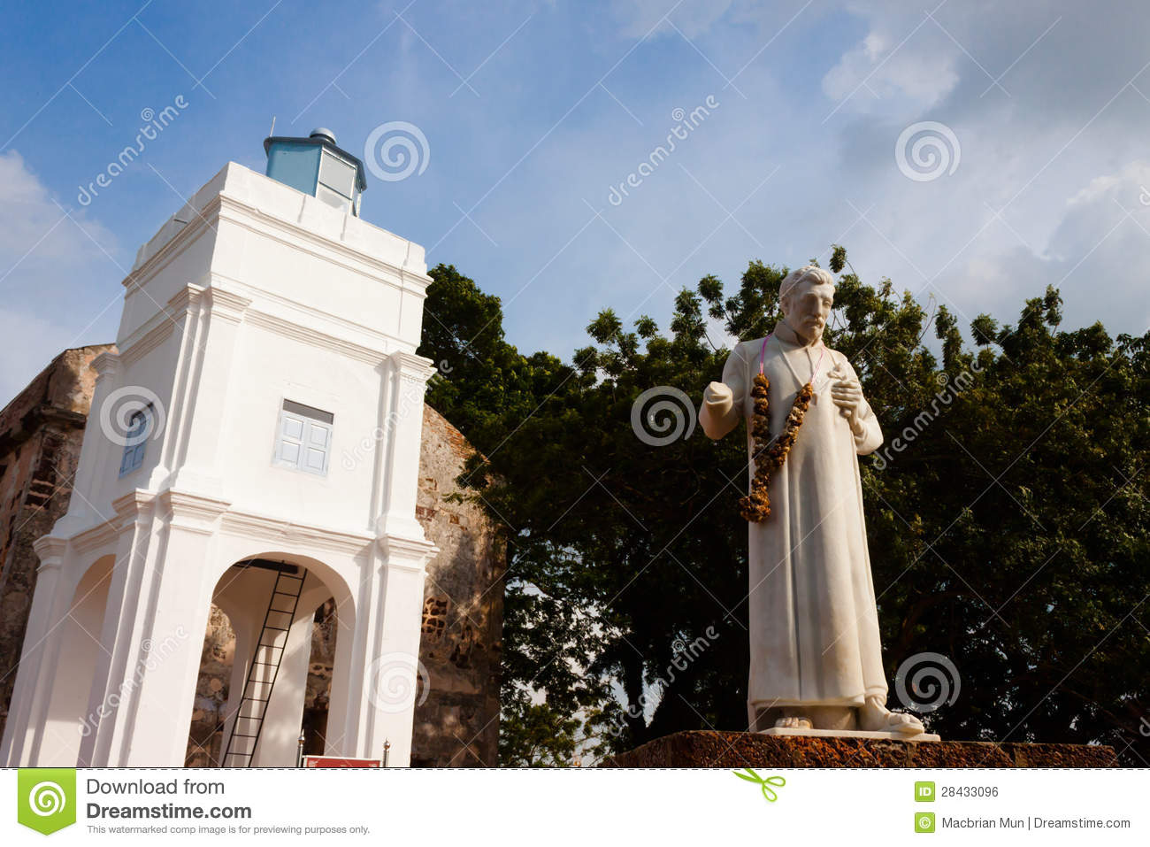 St Francis Xavier statue