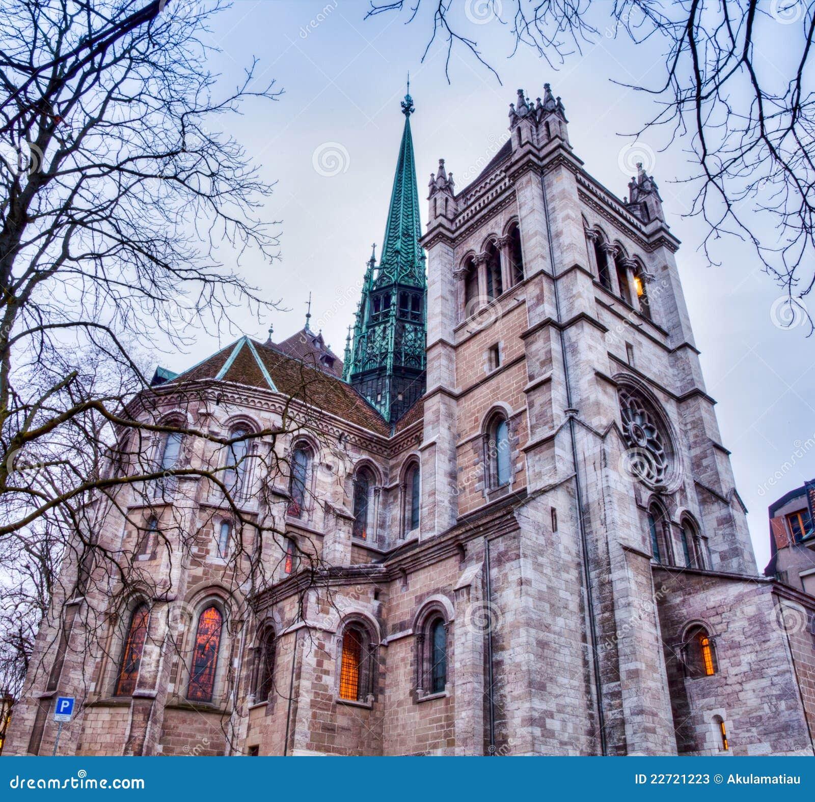 St geneva pierre собора