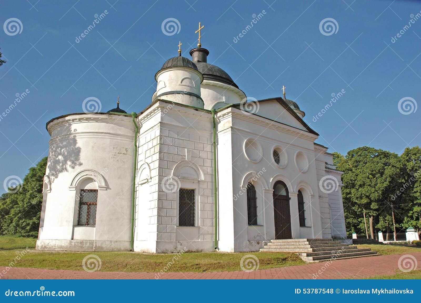St George kościół (1817-1826 gg ) Pałac i parka kompleks