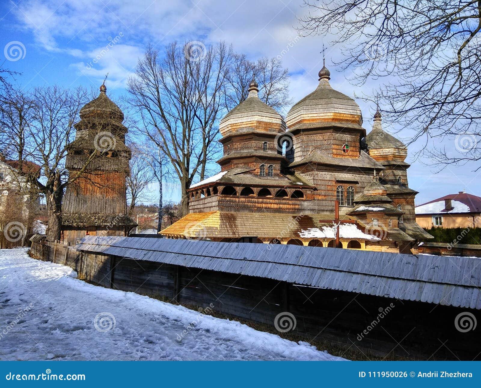St George Ortodoksalny kościół w Drohobych, Ukraina