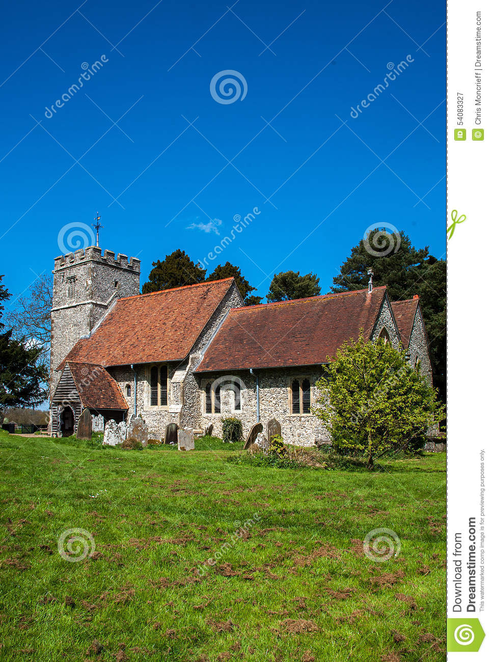 St Giles Church Wormshill Kent