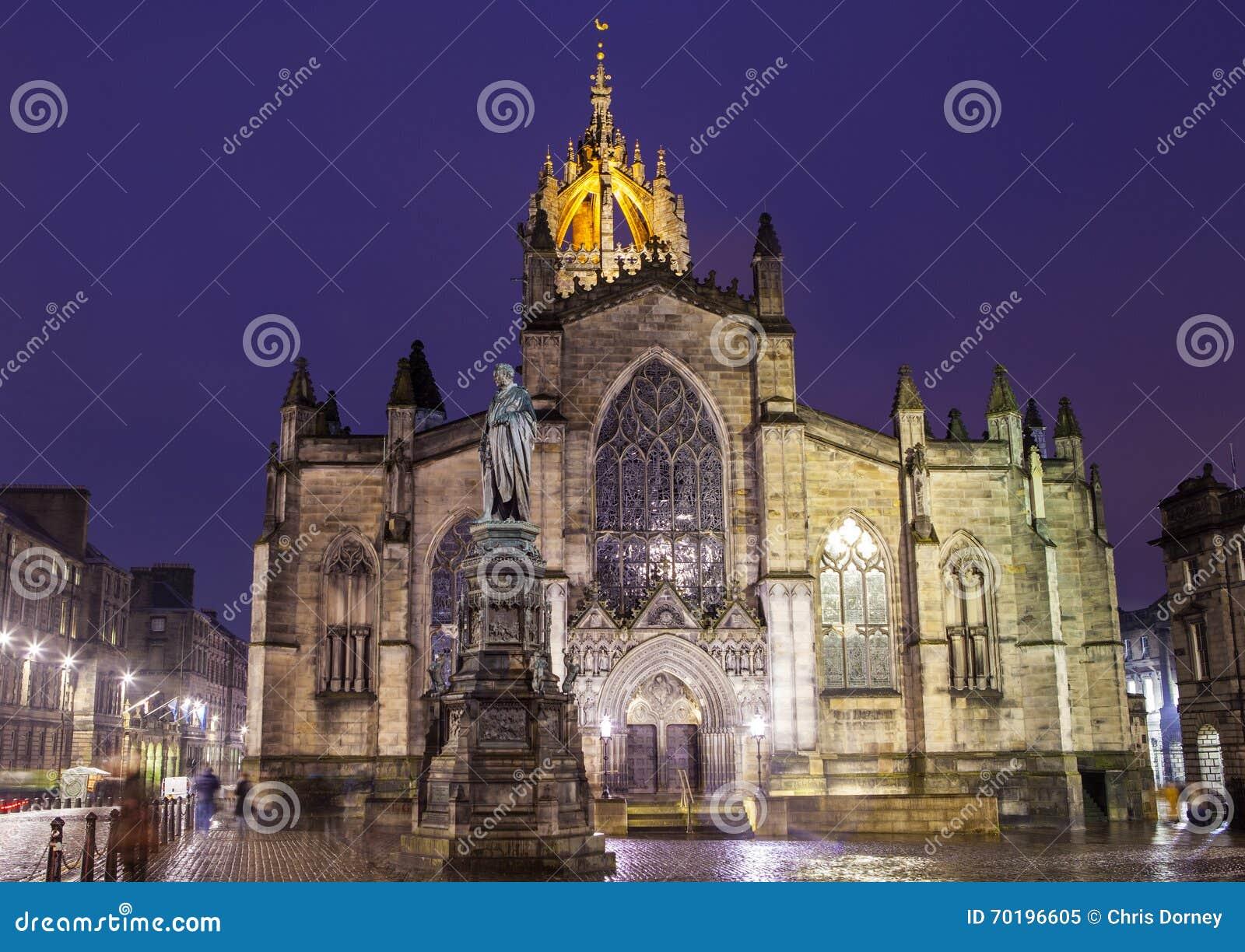 St Giles katedra w Edynburg