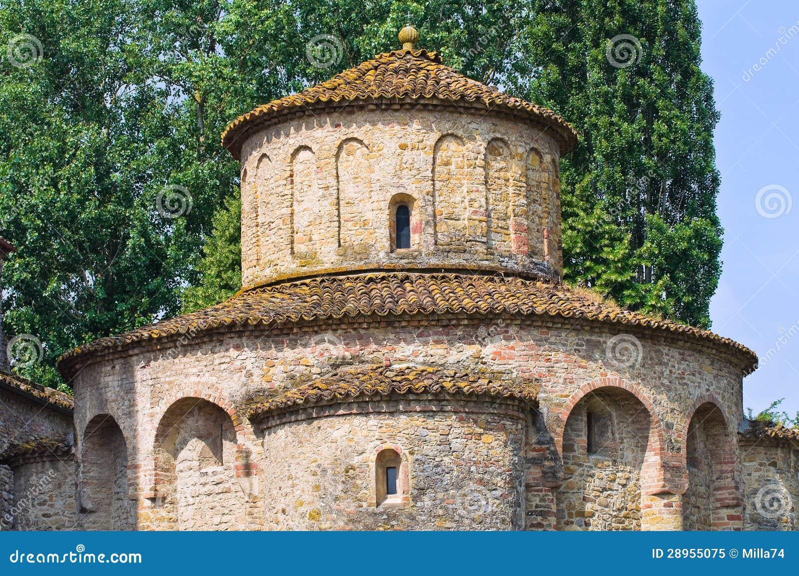 St.Giovanni kościół. Vigolo Marchese. emilia. Włochy.