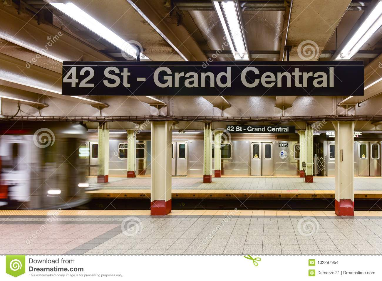42 St - Grand Central Subway Station