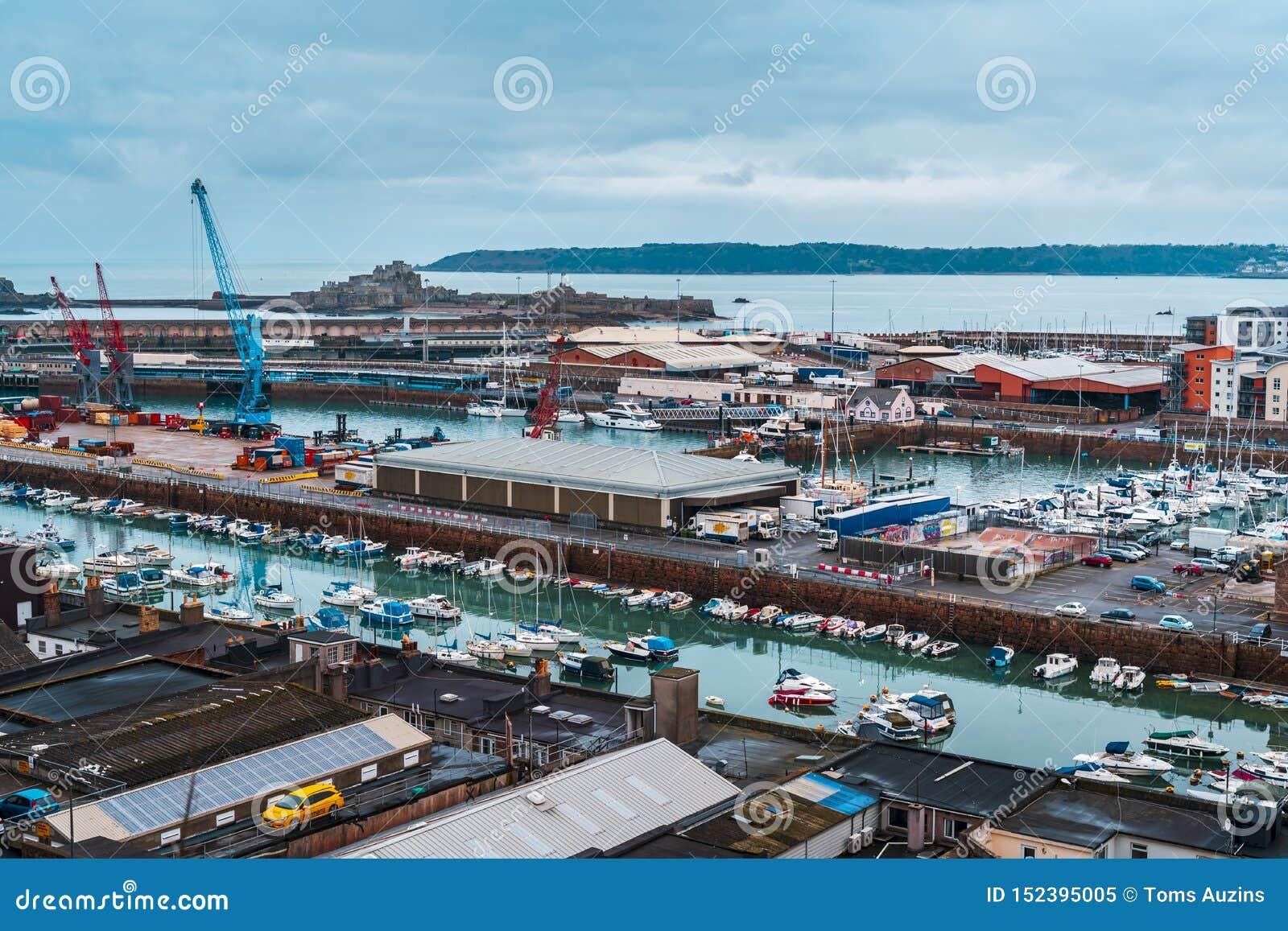 St Helier Elizabeth i schronienie Roszujemy, bydło, channel islands, Zjednoczone Królestwo, Europa
