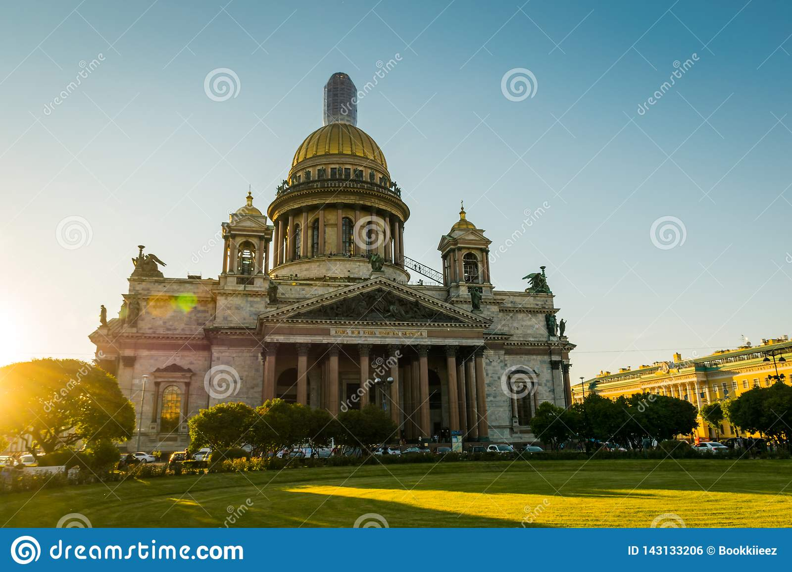 St Isaac Cathedral in heilige-Petersburg, Rusland