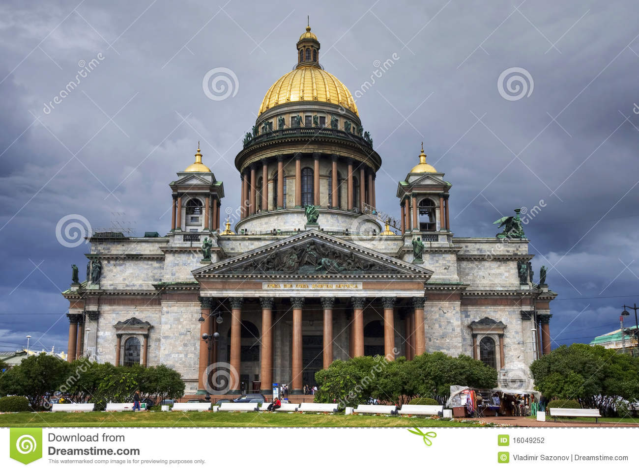 St. Isaac s Cathedral, Saint-Petersburg, Russia.