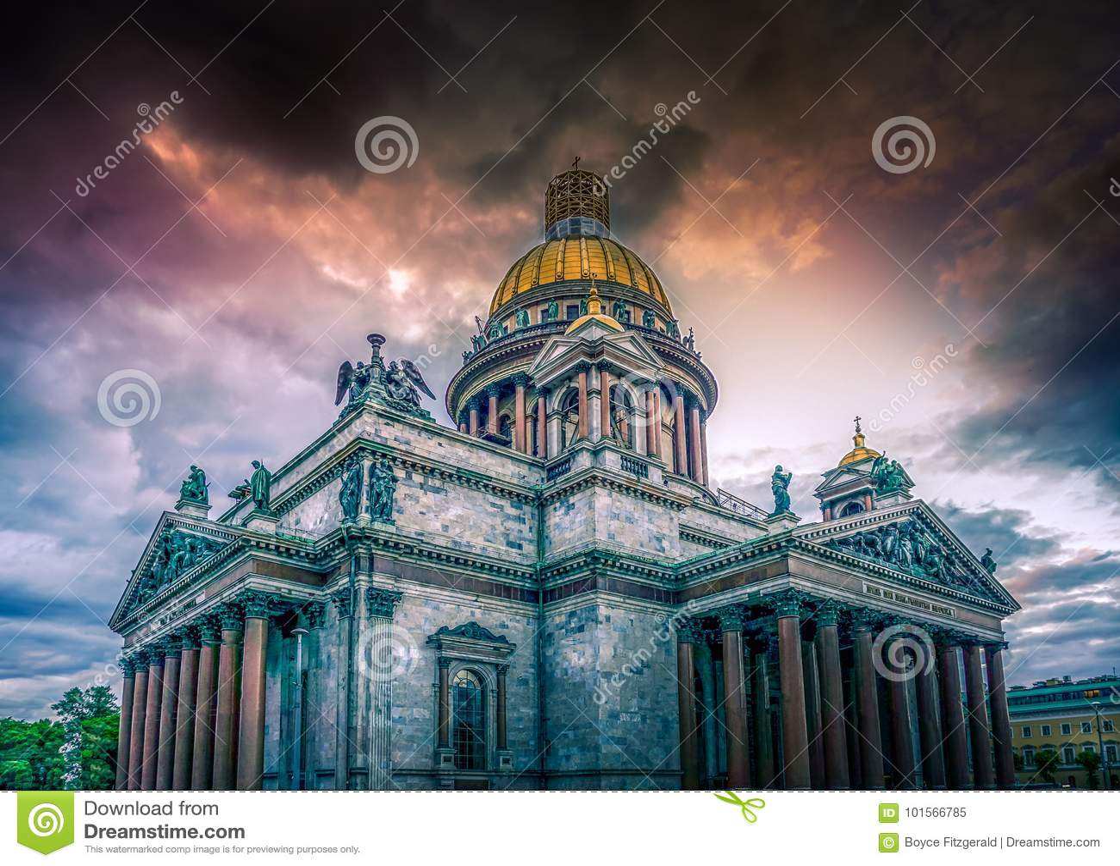 St Isaac ` s Kathedraal, Heilige Petersburg, Russische Federatie