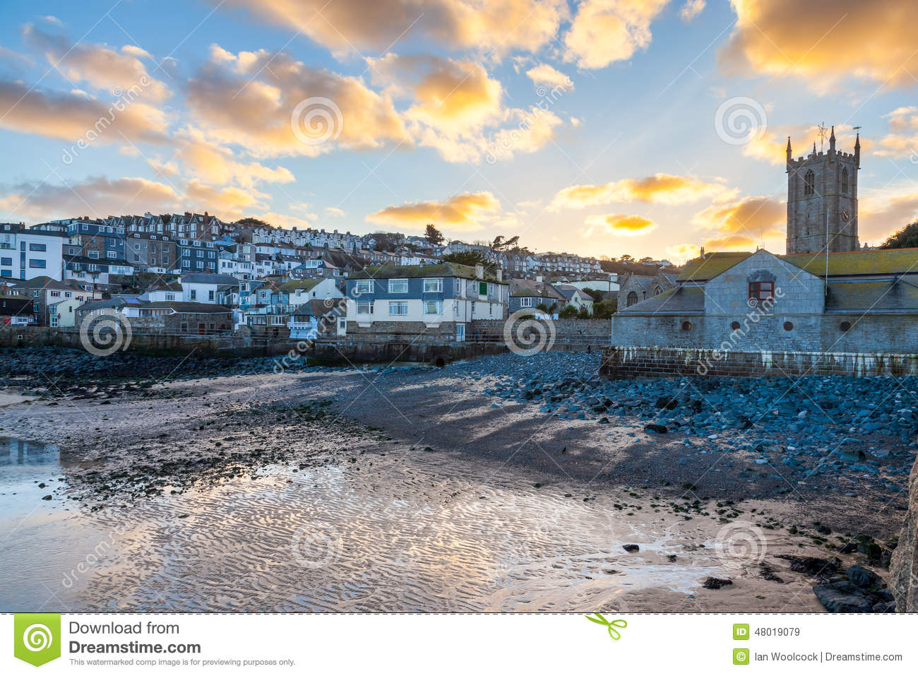 St Ives Cornwall Sunset
