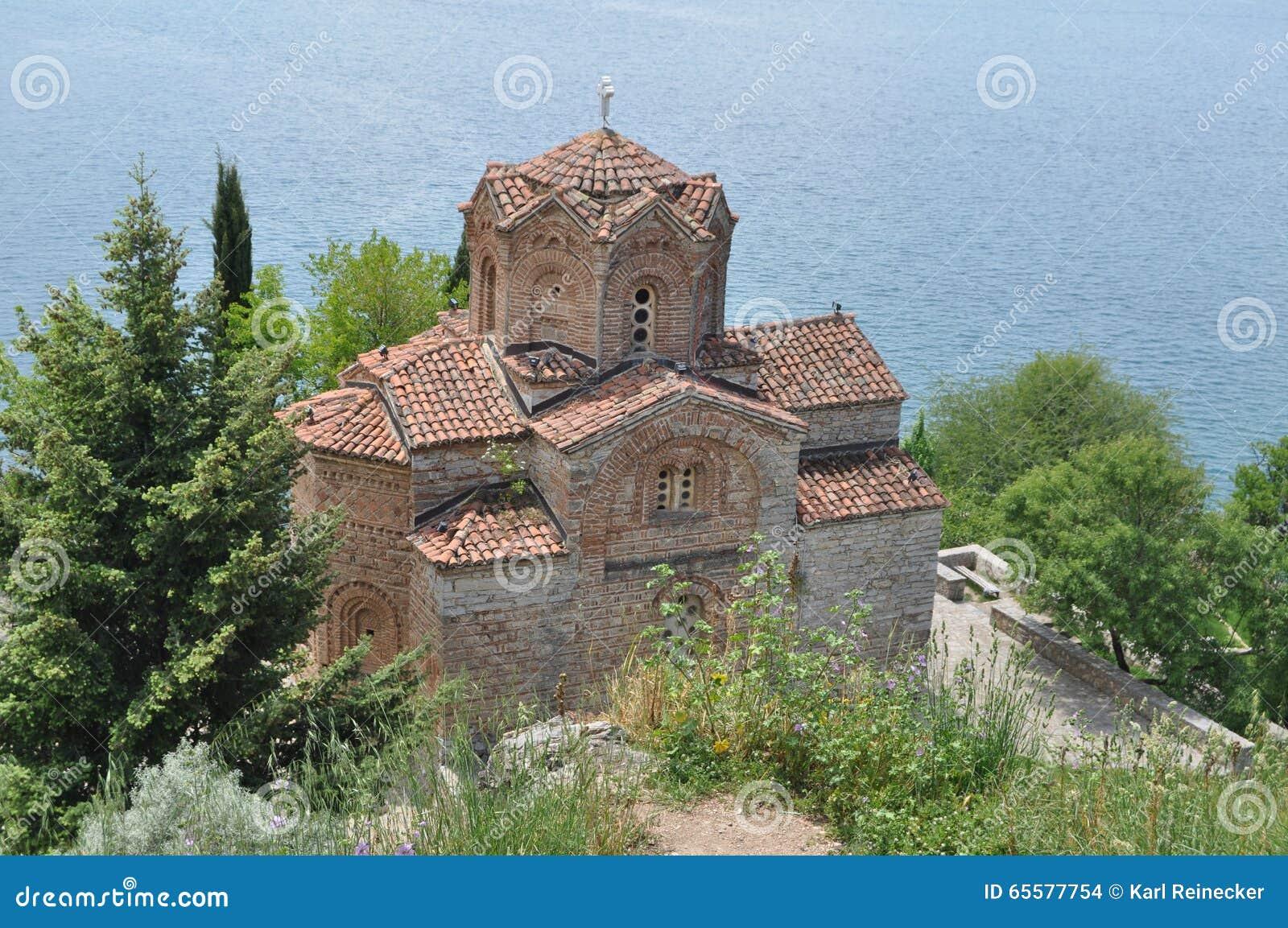St John Kaneo Church em Ohrid
