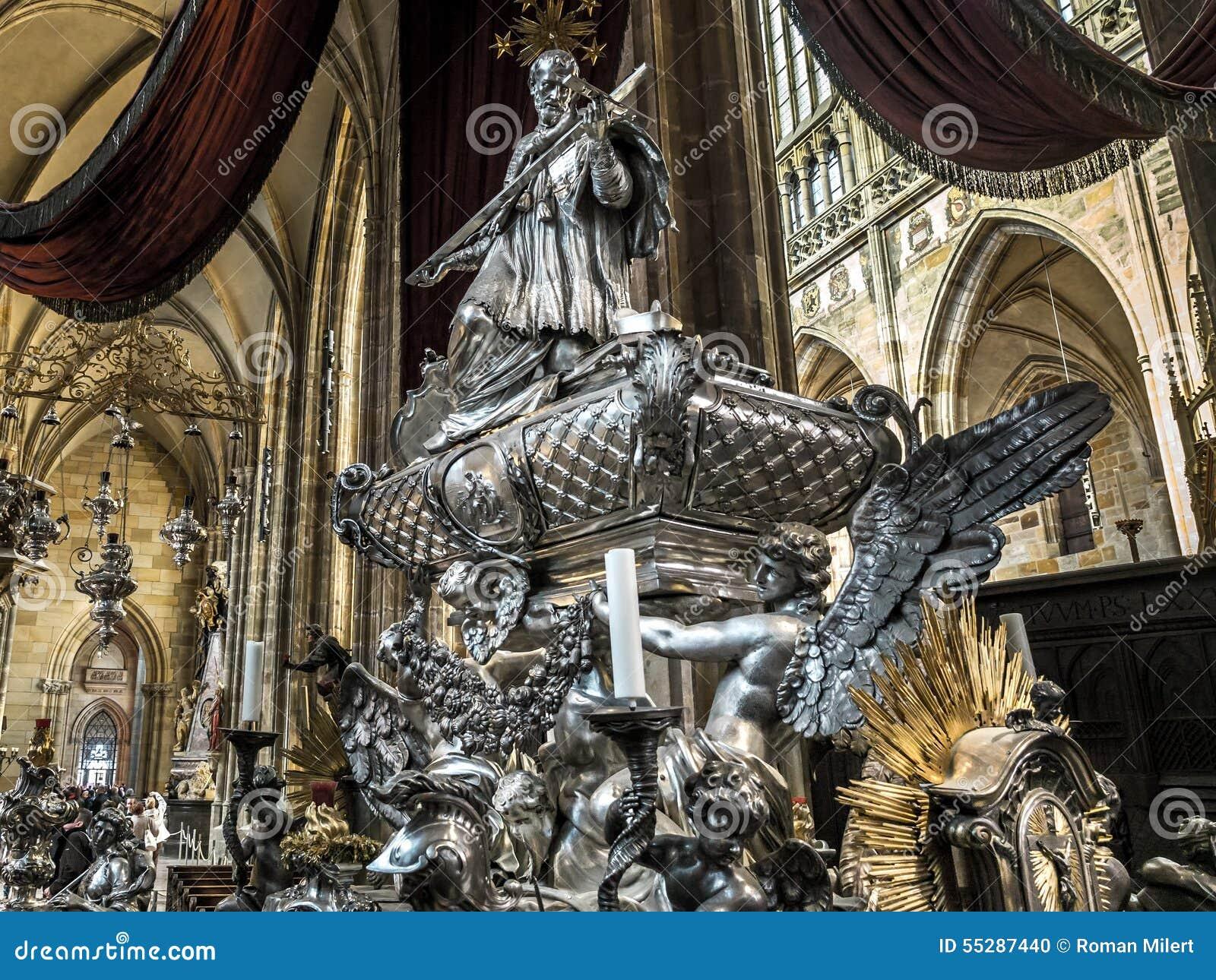 St John Nepomocene nagrobek