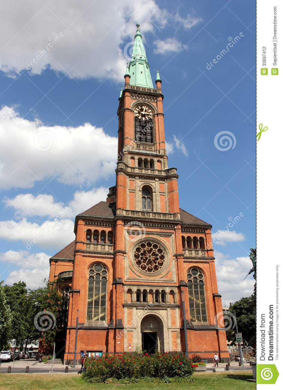 St John S Church In Dusseldorf Editorial Photography