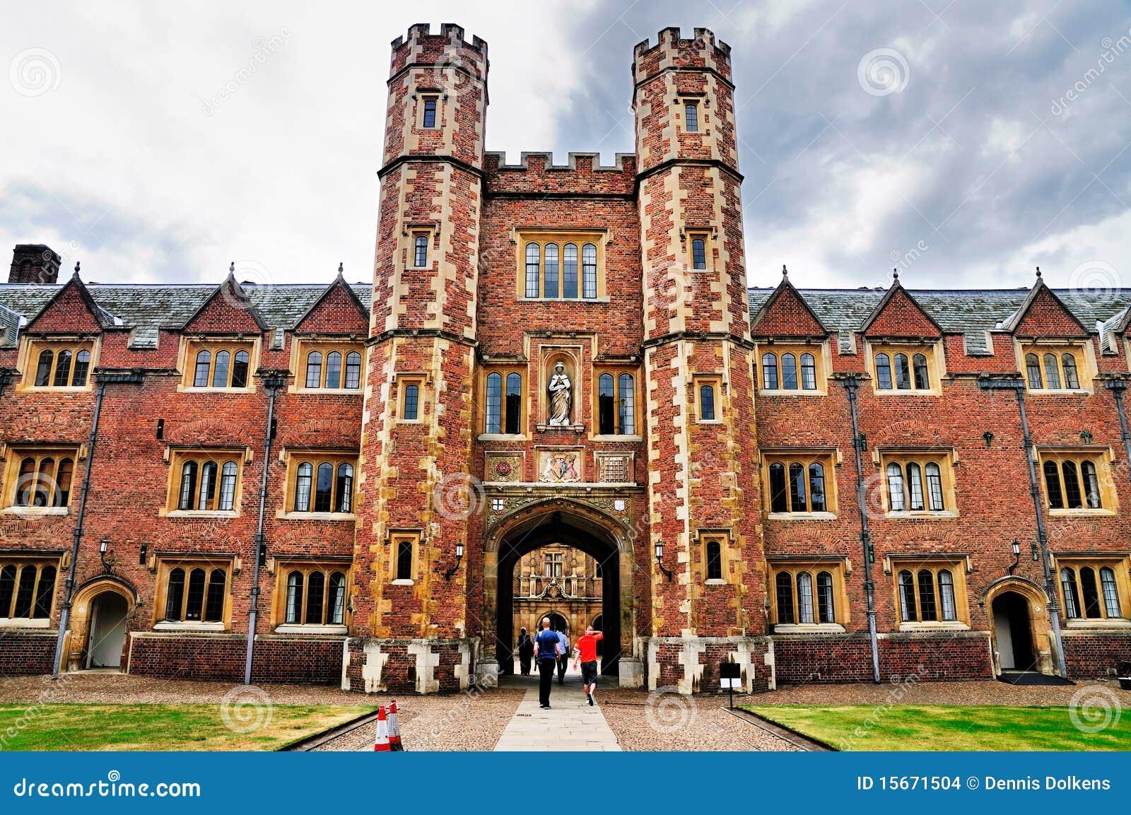 St. John Universiteit, de Universiteit van Cambridge