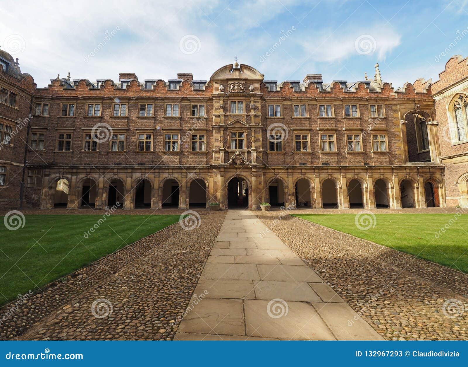 St John Universiteits Derde Hof in Cambridge