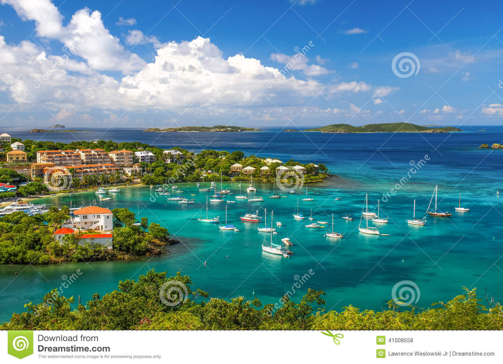 St. John, USVI - Beautiful Cruz Bay