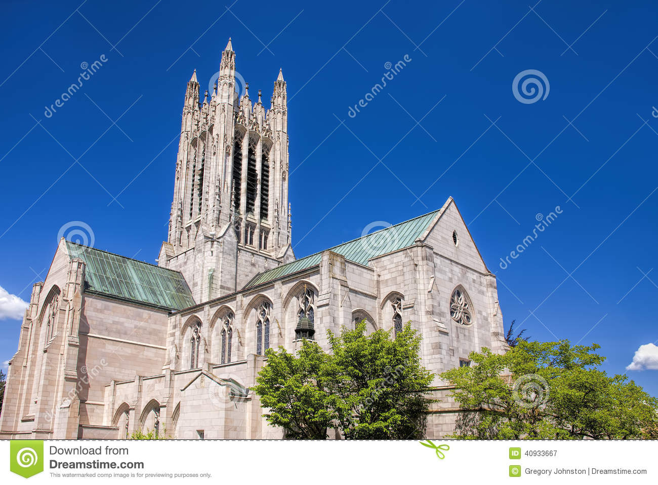 St Johns Gothic Architecture Stock Image