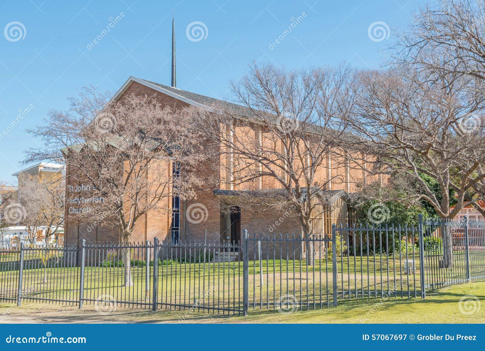 St Johns Presbyteriaanse Kerk in Bloemfontein