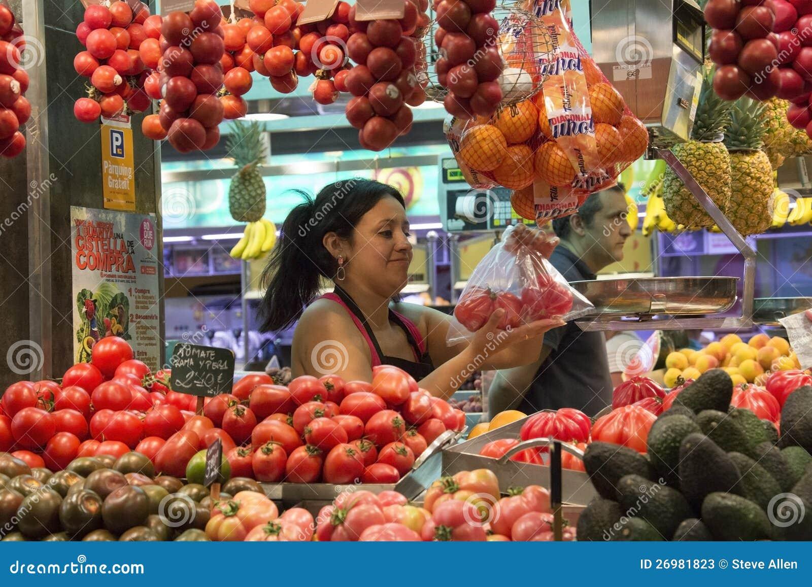 St Joseph Indoor Food Market - Barcelona - Spain
