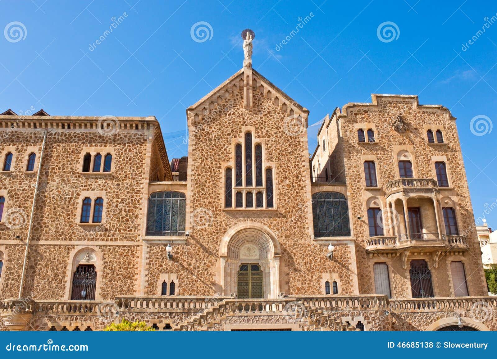 St joseph of the mountain church in barcelona spain - Barcelona san jose ...