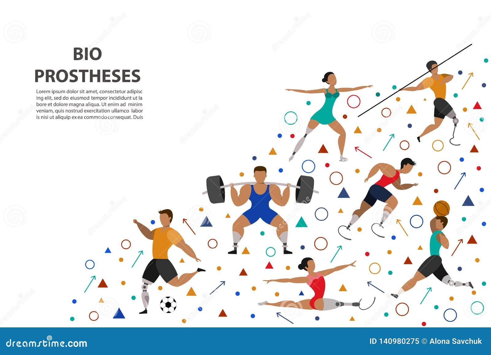 St?ll in av idrotts- folk som g?r olika sorter av sportar