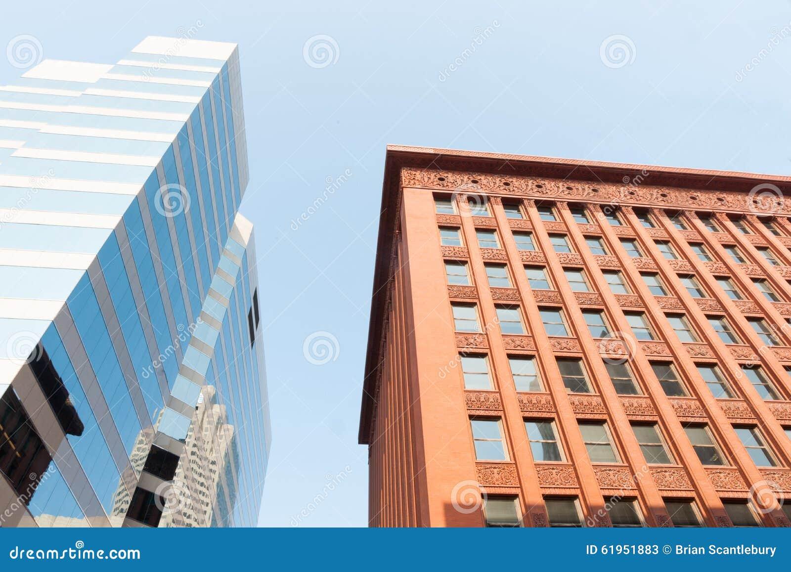 St. Louis, architettura, stili architettonici di contrapposizione, histor
