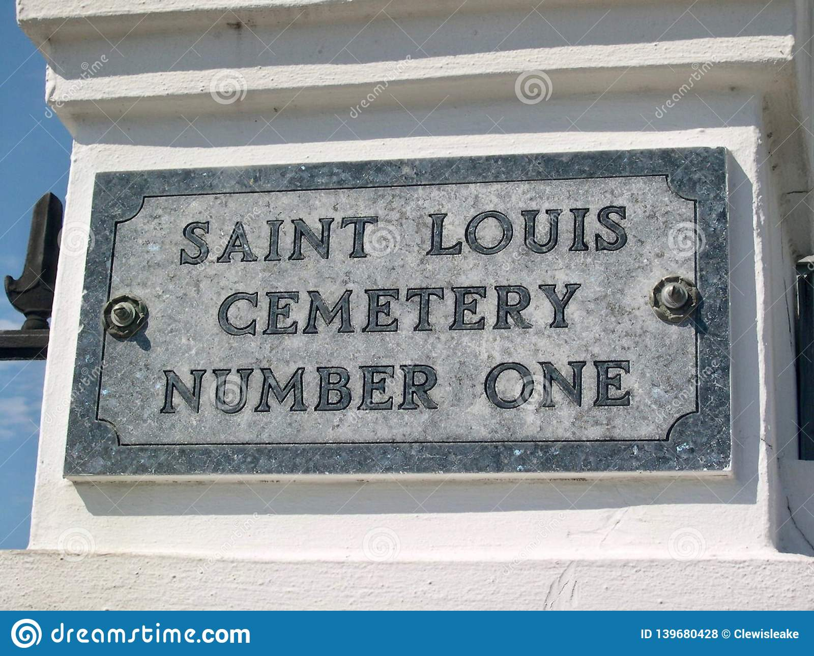 Saint Louis Cemetery Number One, New Orleans, Louisana