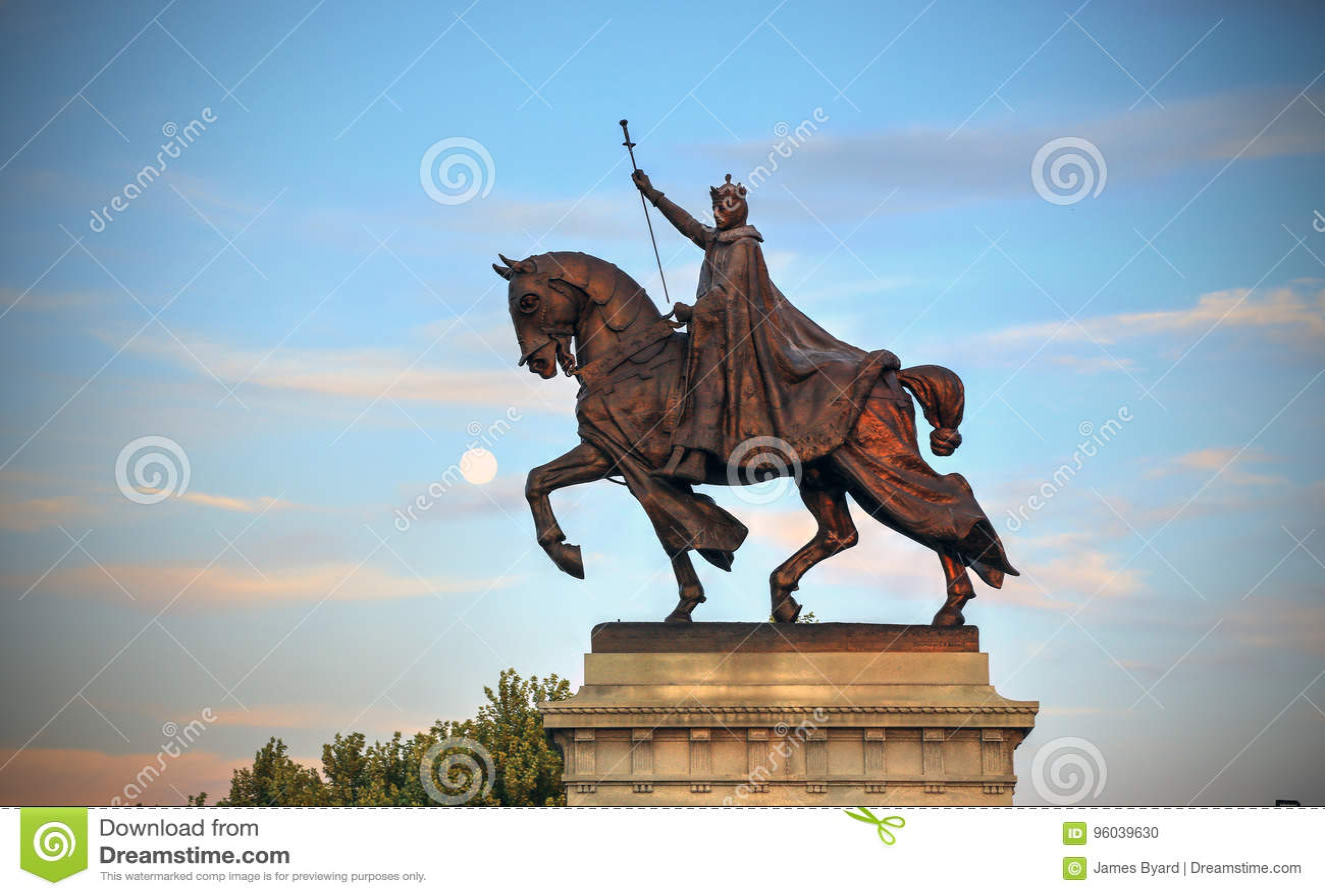 St Louis statua