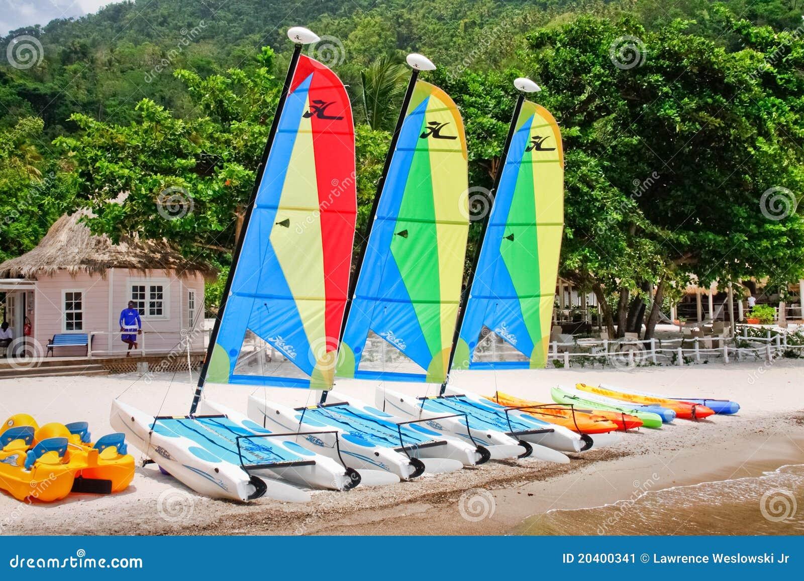 St. Lucia - de Pret van het Strand van de Jaloezie wacht op u!