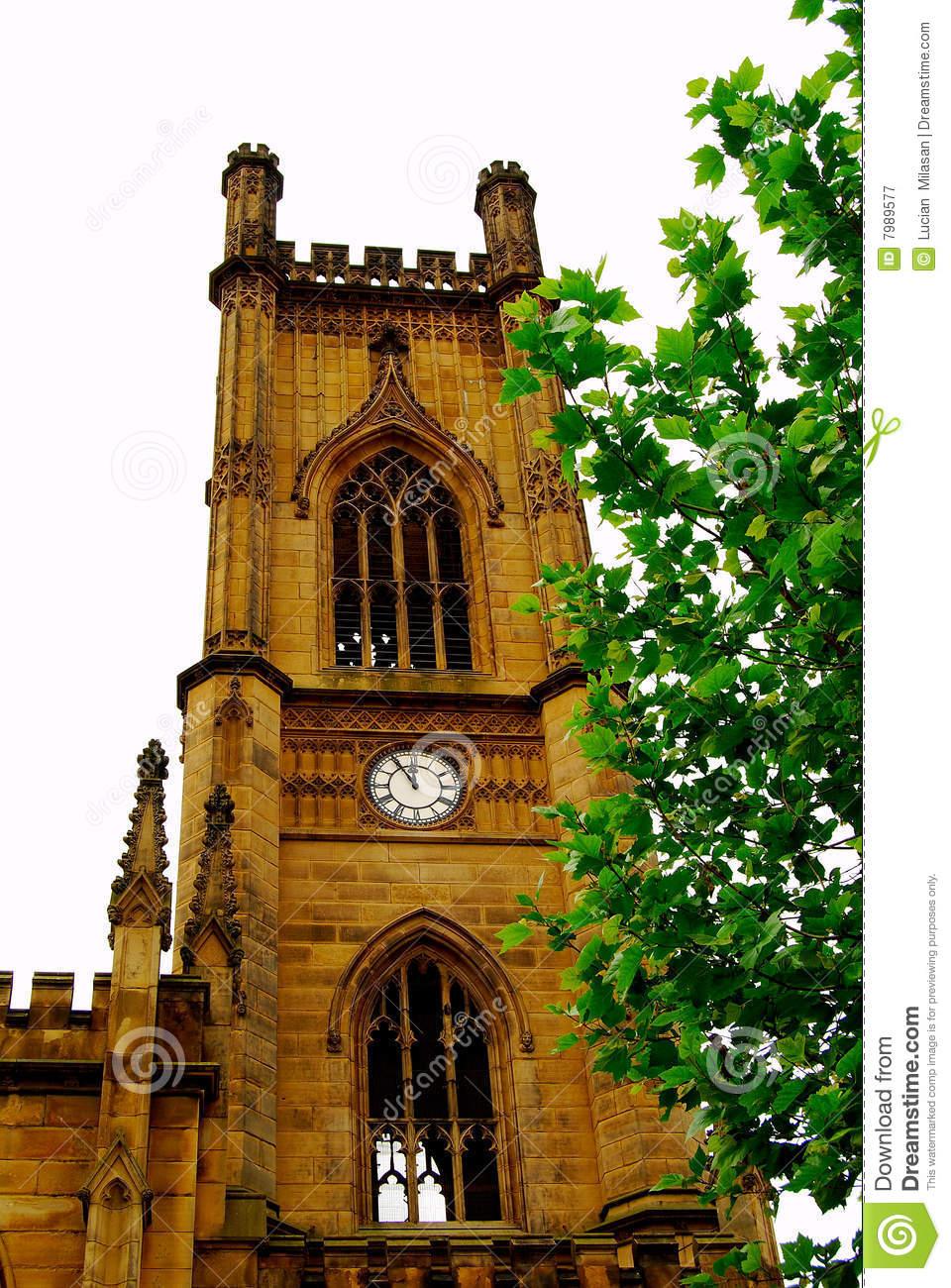 St Luke Cathedral In Liverpool Royalty Free Stock