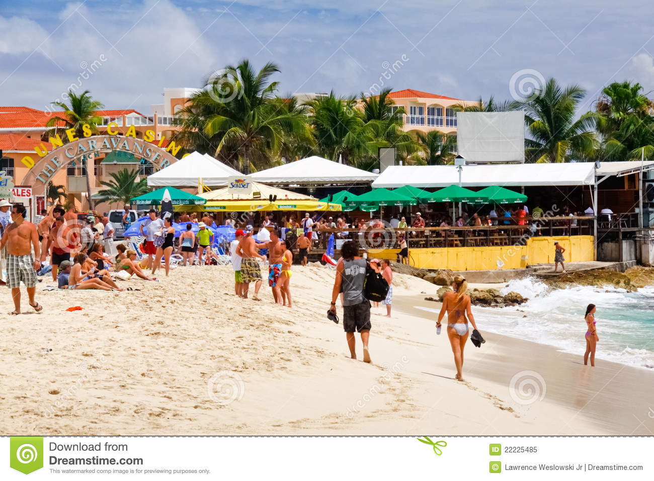 Sunset Beach Cafe St Maarten