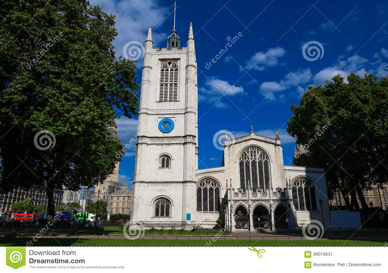 St. Margaret Church an Westminster Abbey in London, Großbritannien