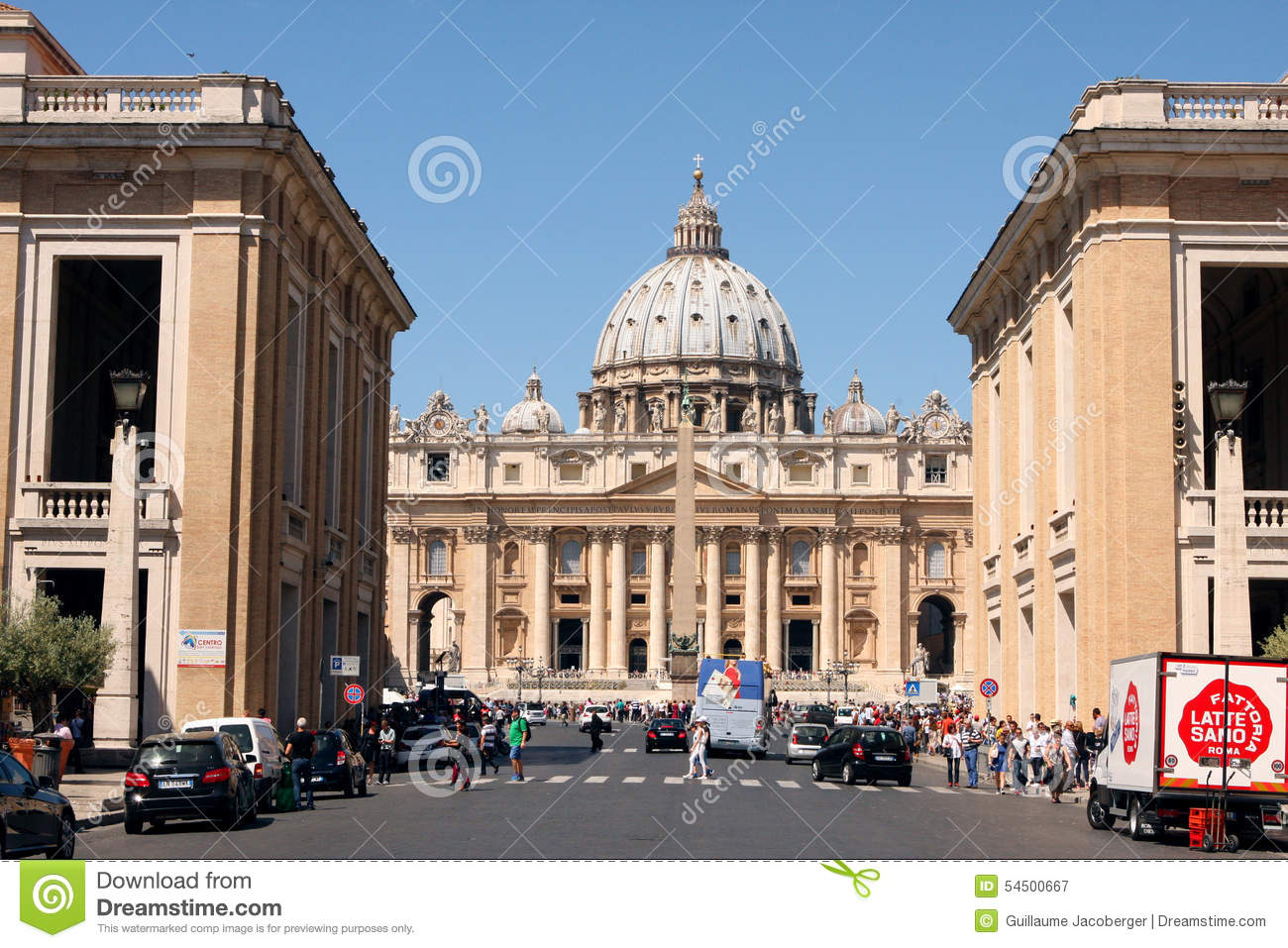 St Mark Place Vatican Rome Italy