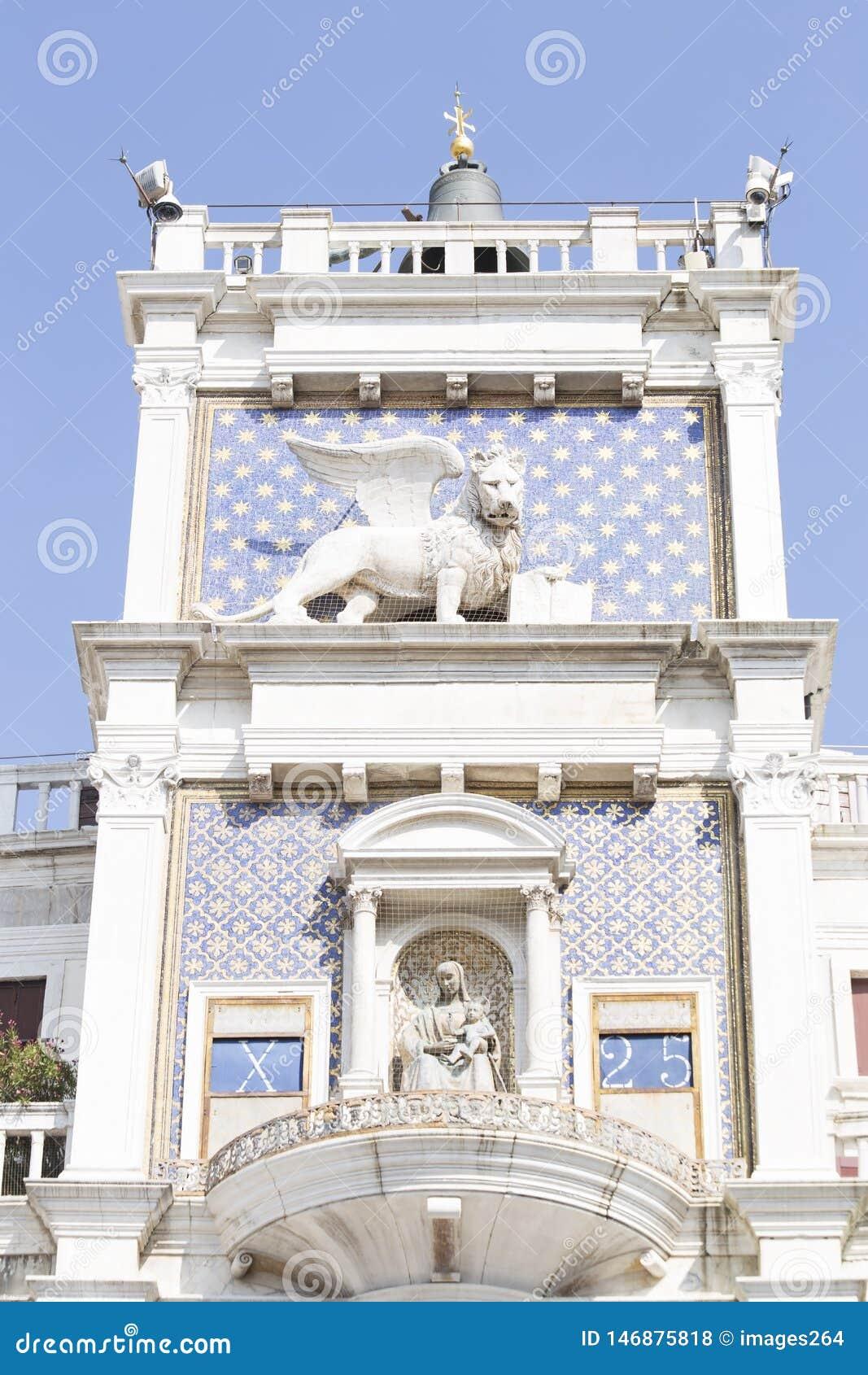St Mark`s clock tower