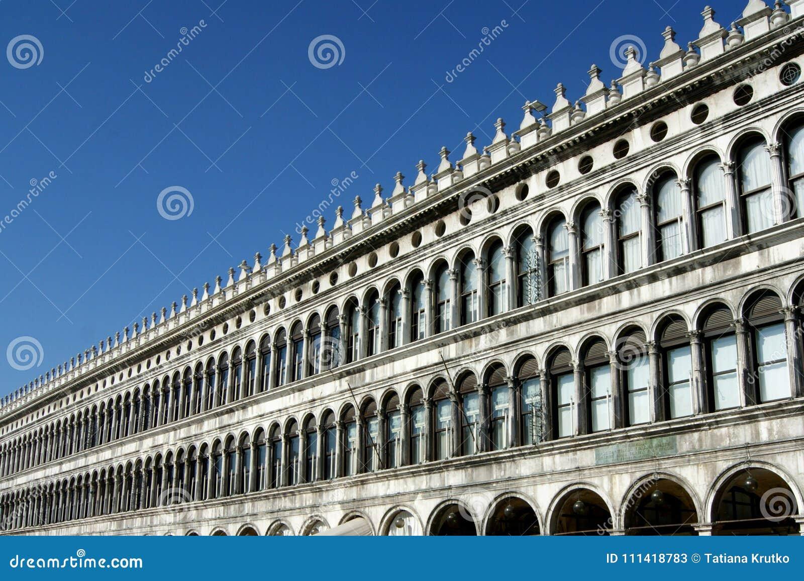 St Mark ` s kwadrat w Wenecja