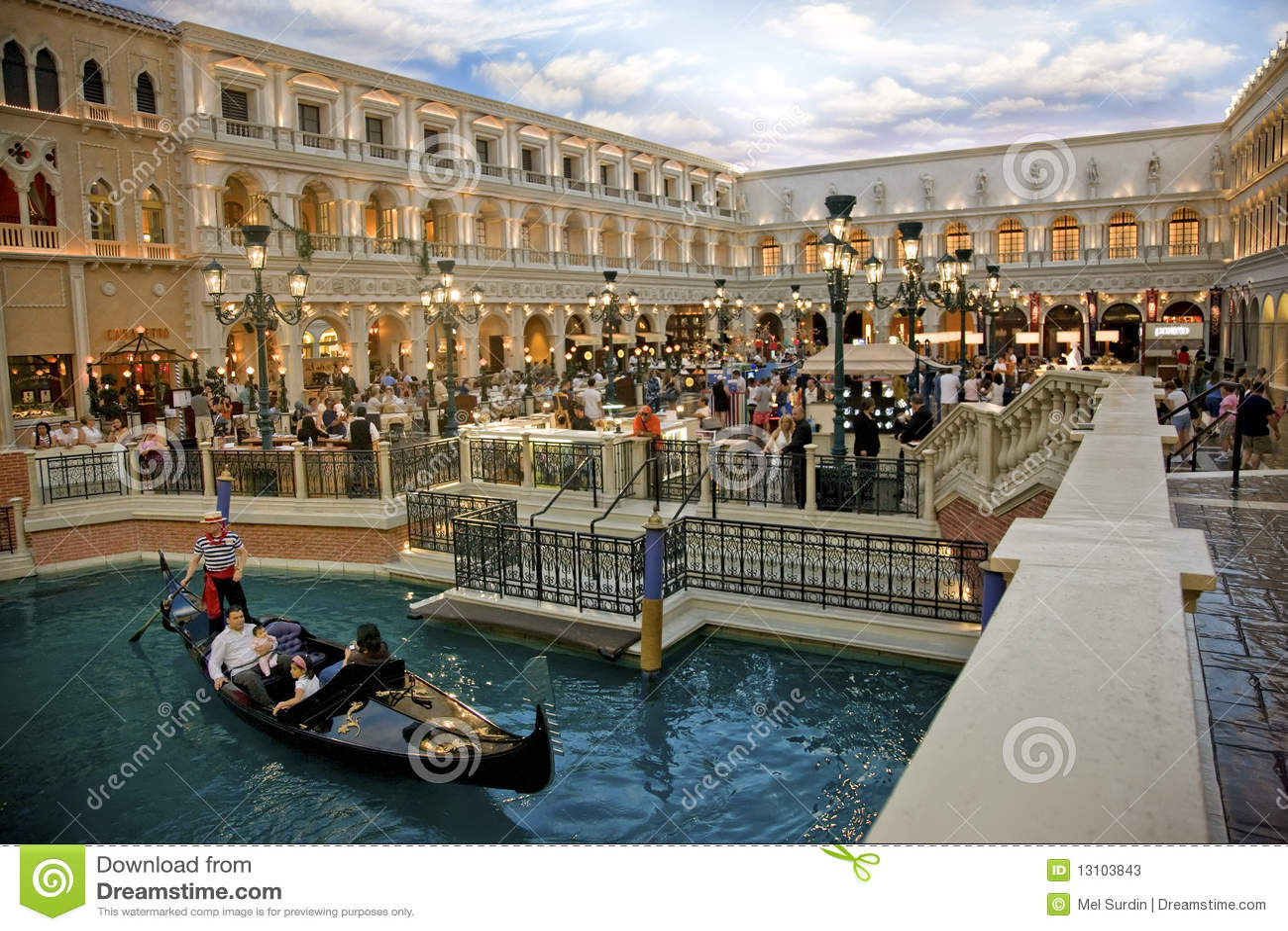 St Marks Square Venetian Hotel Editorial Stock Photo Image - Map of las vegas venetian