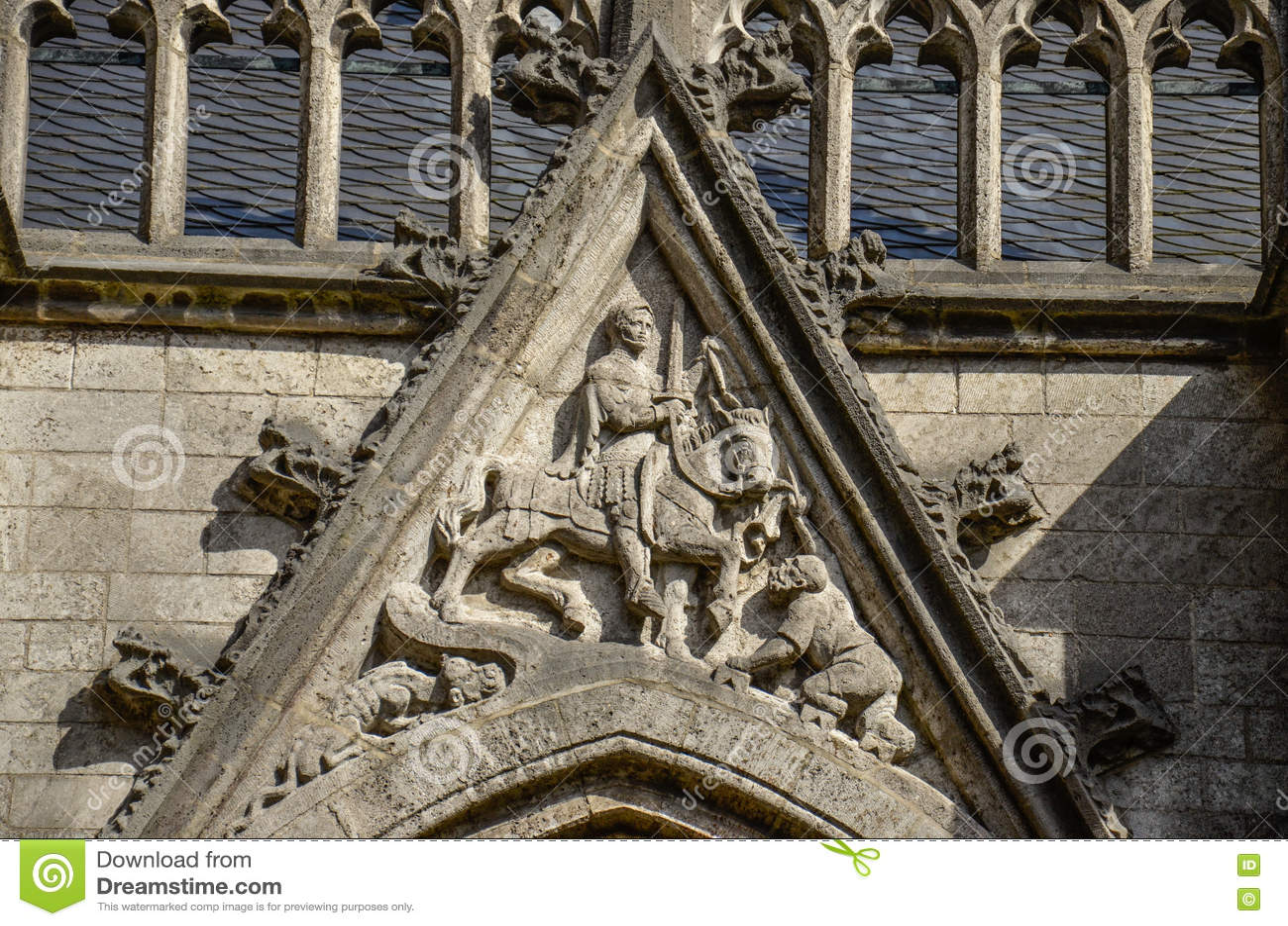 St Martin на церков Dom, Utrecht, Нидерландах
