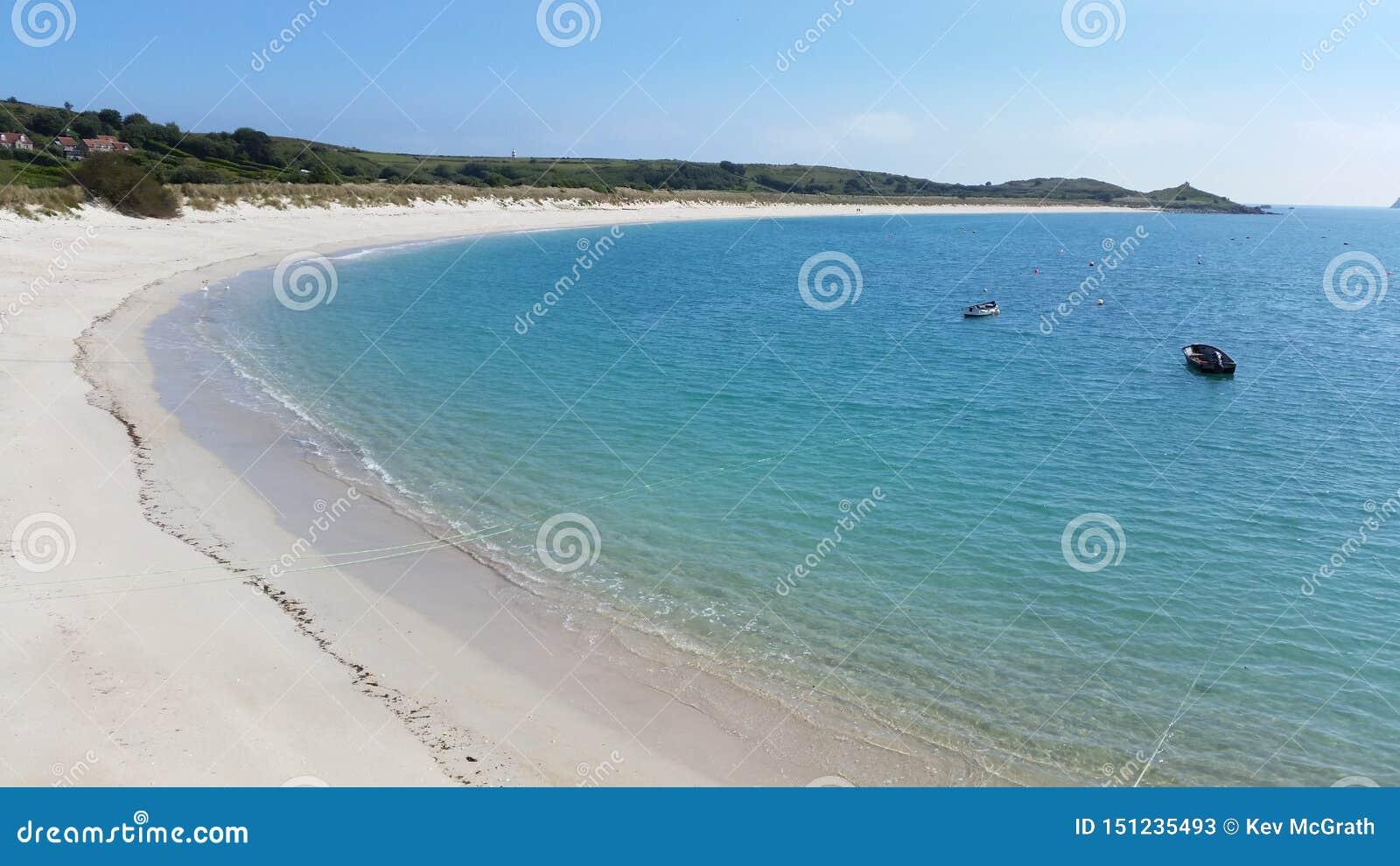 St Martin & x27; пляж s, острова Scilly, Корнуолла