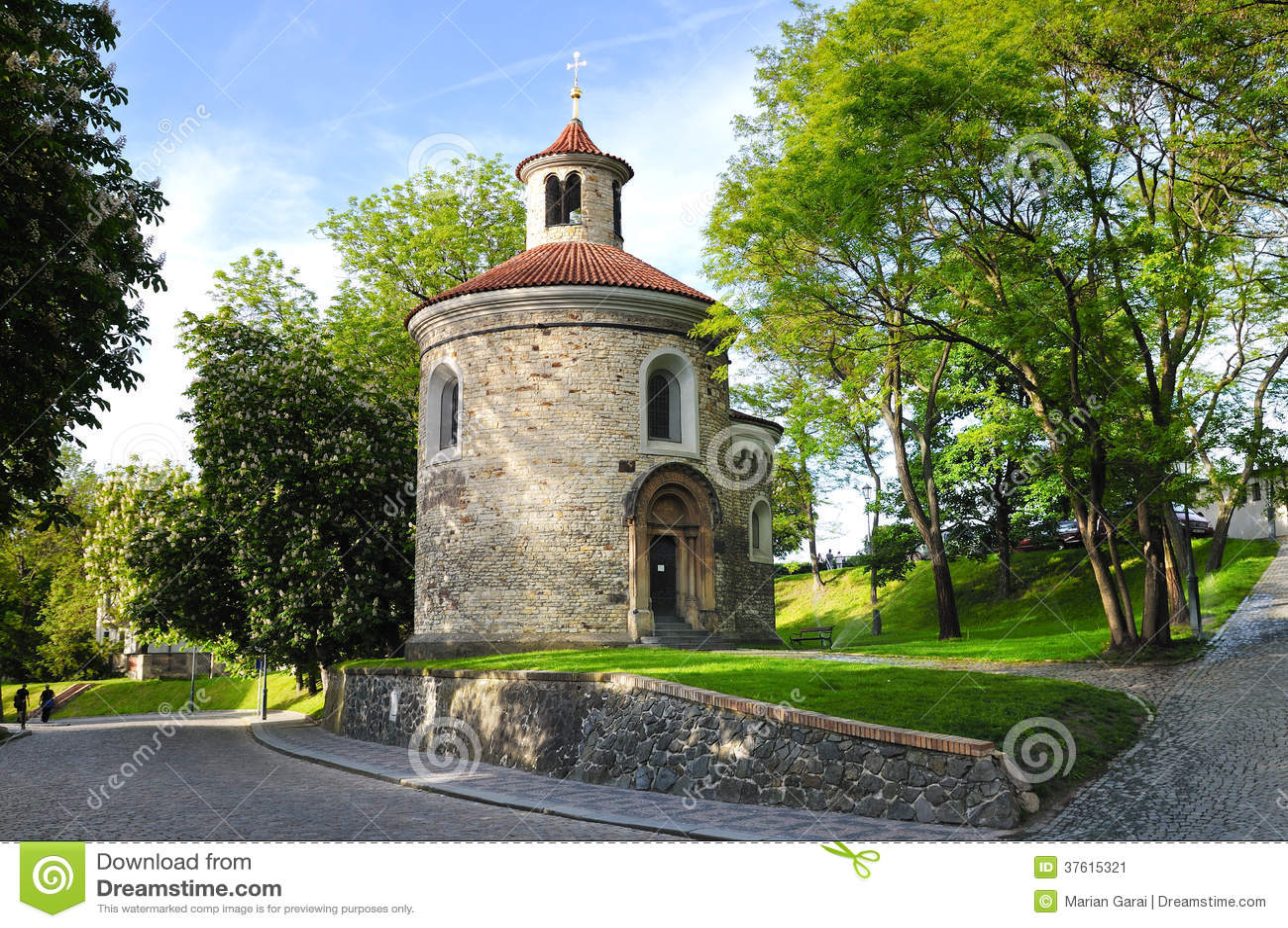 St. Martin Rotunda in Vysehrad