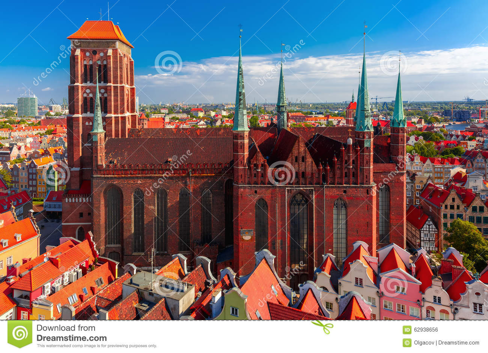 St Mary Church em Gdansk, Polônia